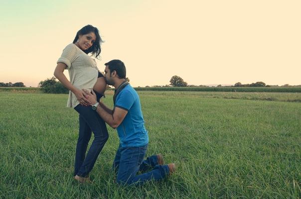 Thiviya & son mari
