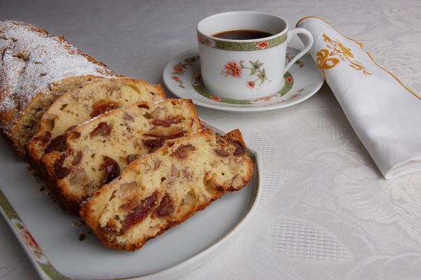 Cake aux dattes et noix